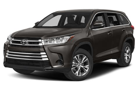 Pictures Of Toyota Suvs New 2017 Toyota Highlander Price Photos Reviews