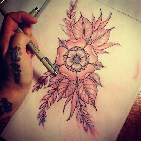 tattoo flower body best 25 traditional flower tattoos ideas only on