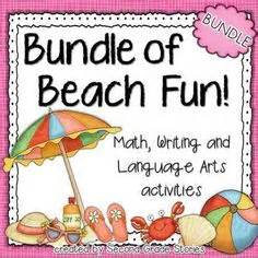 beach themed language arts activities 1000 images about march is reading month on pinterest