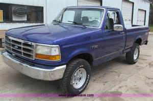 1995 Ford Truck 1995 Ford F150 Xl Truck No Reserve Auction On