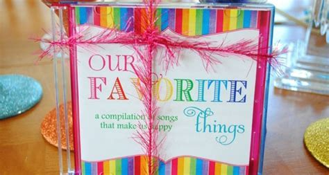 My Favorite Things Party   Pretty My Party