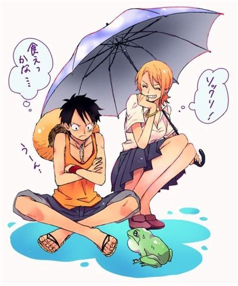 luffy and nami luffy and nami one my favorite anime couples