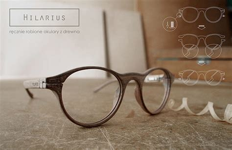 Handmade Glasses - hilarius handmade wood frame glasses