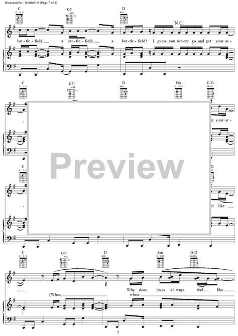 jordin sparks tattoo piano notes battlefield sheet music music for piano and more