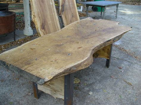 oak slab table desk davelennard com
