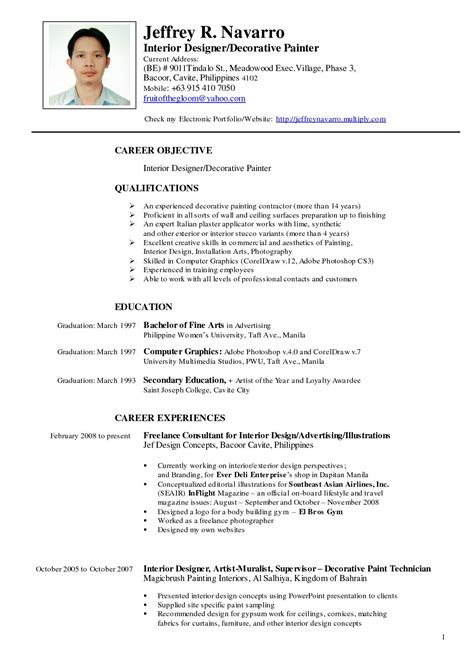 resume format 2018 philippines 11 resume sle format philippines malawi research
