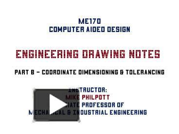 Ppt Engineering Drawing Notes Powerpoint Presentation Engineering Drawing Ppt Free