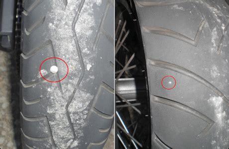 Motorrad Reifen Nagel by N 228 Gel Auf Der Fahrbahn Tourenfahrer