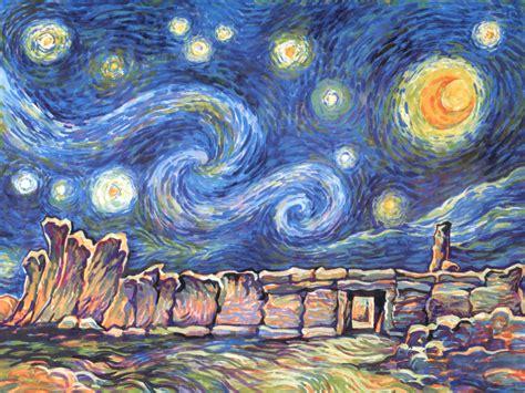 van gogh basic art wallpapers van goghs starry night
