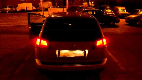 c lights vectra c z19dth 2008 all back lights