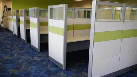 multiple workstation layouts create  unique office ethosource