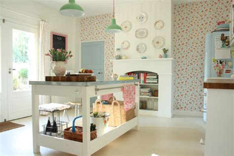Cath Kidston Kitchen by Decorating With Pastels Town Country Living
