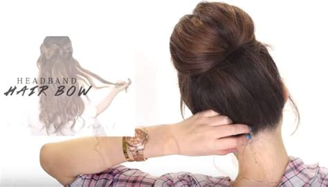 different updo hairstyles 2 minute bubble bun hairstyle quick 2 minute bubble bun hairstyle fashion corner
