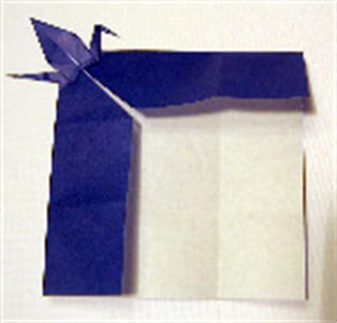 Origami Crane Bookmark - origami bookmark