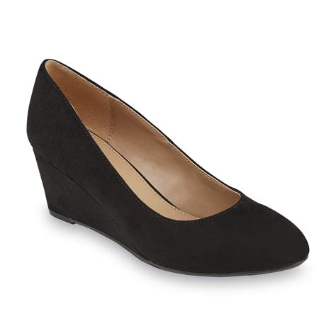 black wedge shoes covington s arcadia black wedge shoe