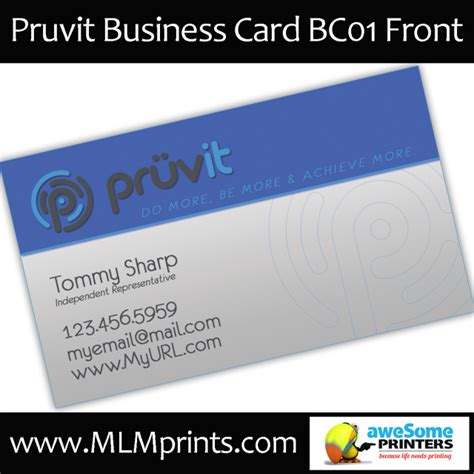 kyani business cards template pruvit business cards marketing material