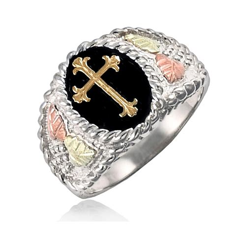 Smart Sw05 Black Ring Gold pin cross rings for image search results on
