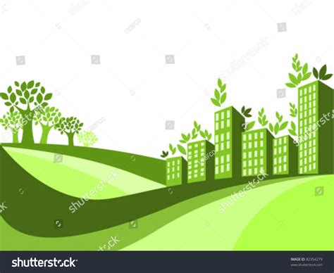 go green city background stock vector image of media green city background stock vector illustration 82354279