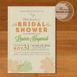 autumn wedding shower invitations autumn weddings pics