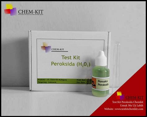 Kit Multiguna test kit peroksida chemkit test kit chemkit