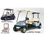 Stretch Limo Kit Club Car Precedent Golf Cart – Buff  King Of Carts