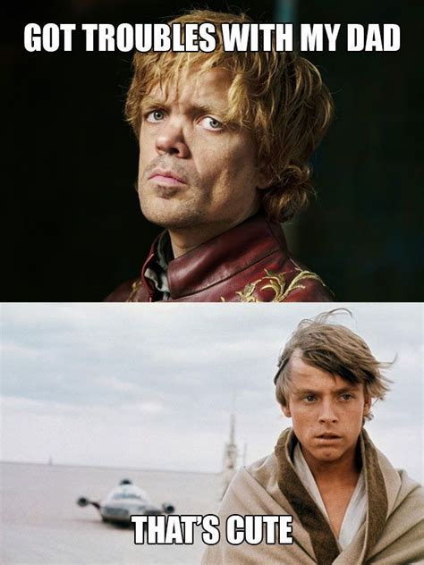 Best Star Wars Meme - star wars vs game of thrones neatorama