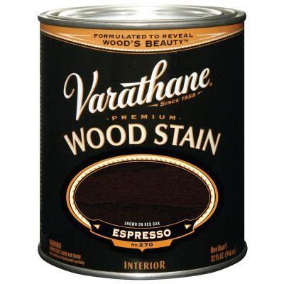 varathane 1 qt espresso flat premium wood stain 272
