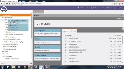 Marketo Responsive Templates Landing Pages Youtube Marketo Landing Page Templates