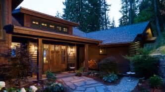 Lake Cabin House Plans Mountain Architects Hendricks Architecture Idaho Lake
