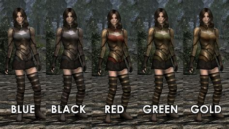 skyrim archer armor mod elven archer armor retexture at skyrim nexus mods and