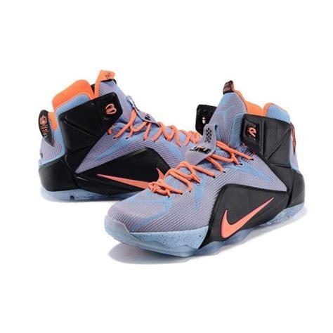 lebrons shoes 2015 2015 nike lebron 12 quot easter quot orange grey black basketball