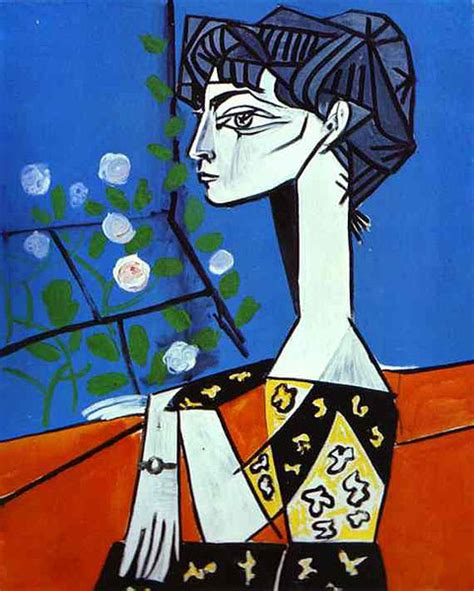 picasso paintings of jacqueline jacqueline with flowers by pablo picasso