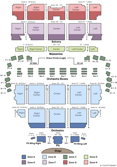wang theatre boston seating map il divo concert tickets