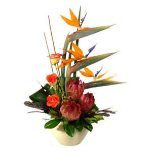 Cny Home Decor out of africa modern ethnic flower arrangement