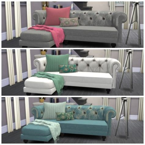 cc couch sofa recolors at dinha gamer 187 sims 4 updates