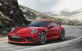 Porsche Gt3 Geneva Motor Show 2017 New Porsche 911 Gt3 Unveiled
