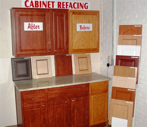 refinishing kitchen cabinets cost cabinet refacing before after kitchen designs