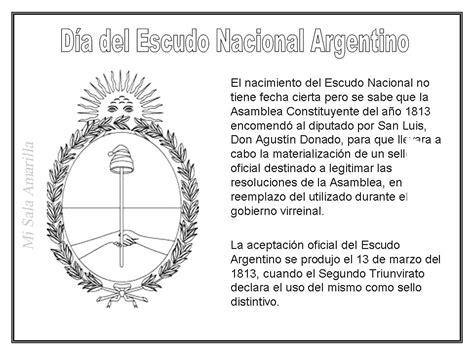 imagenes simbolos patrios argentinos forma oval y est 225 dividido en dos zonas si quiere