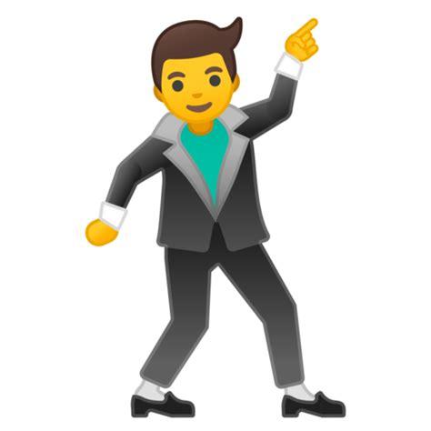 dancing emoji man dancing emoji