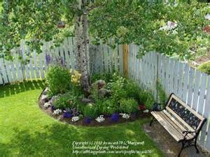 25 best ideas about corner flower bed on
