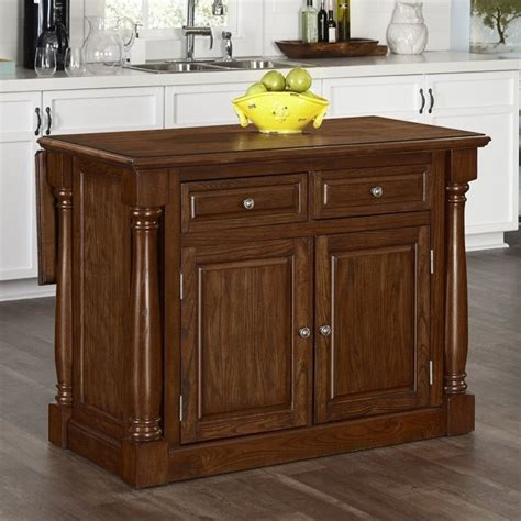 monarch kitchen island home styles monarch kitchen island with wood top oak carts