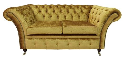 Gold Chesterfield Sofa Gold Sofas Uk Infosofa Co