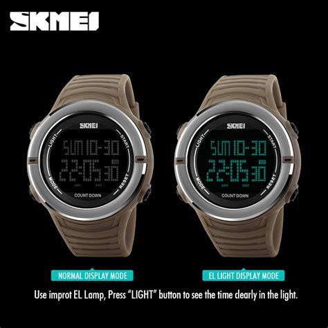 Skmei Jam Tangan Digital Pria Cowok Keren skmei jam tangan digital pria 1209 black jakartanotebook