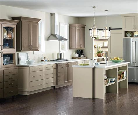 schrock kitchen cabinets maple cabinets in a casual kitchen schrock