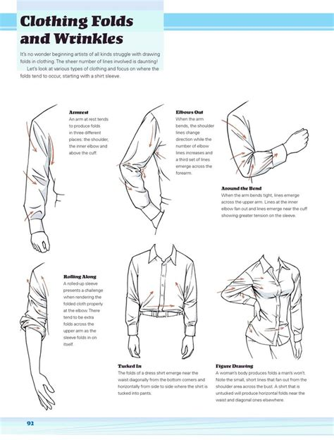 How To Draw Creases And Folds In Clothes