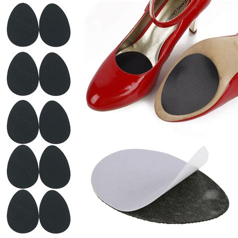 non slip grip pads for high heel shoes 5 pairs anti slip high heel shoes sole grip protector non