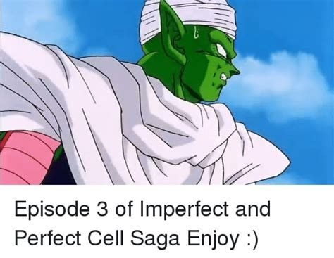 Perfect Cell Meme - 7 episode 3 of imperfect and perfect cell saga enjoy