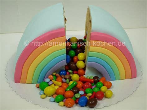 lollipop kuchen rainbow cake regenbogenkuchen regenbogentorte