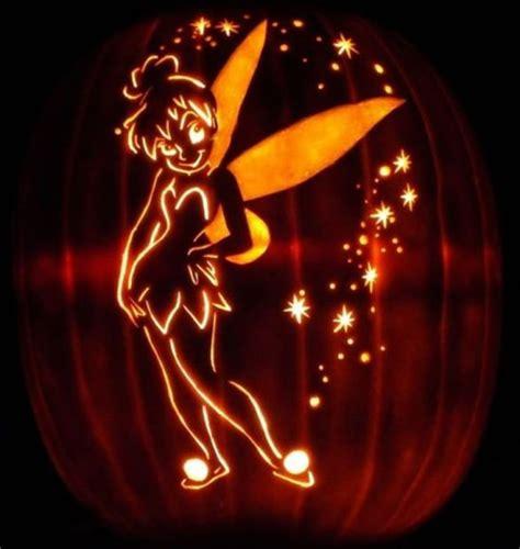 16 printable tinkerbell pumpkin templates designs