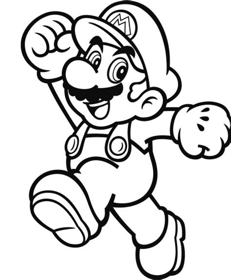 blank coloring pages mario official mario coloring pages gonintendo